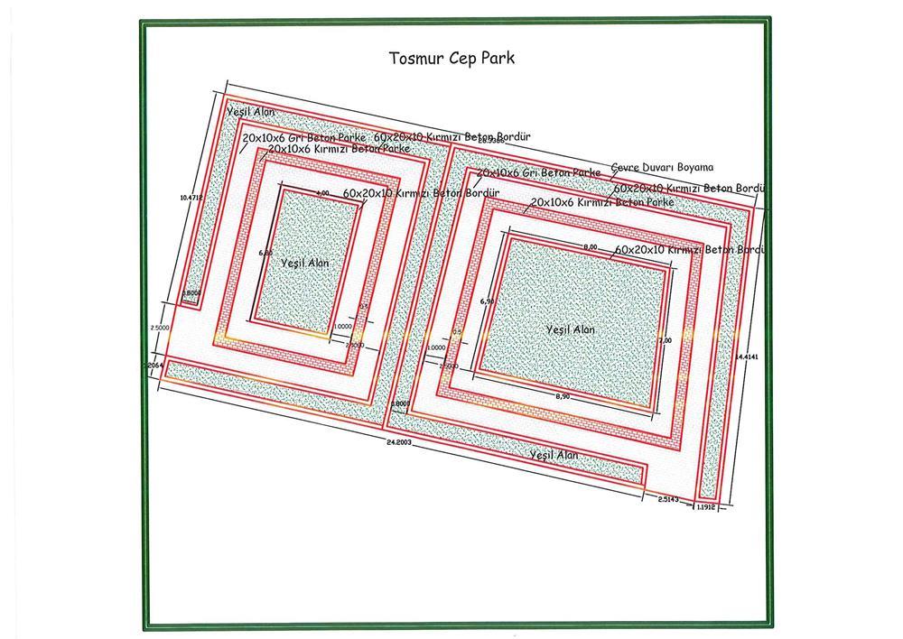 Alanya Belediyesi Alanyaya Yeni Parklar Kazandırılıyor