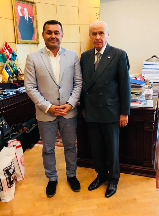 Alanya Belediyesi Baskan Yucel Mhp Lideri Bahceli Yi