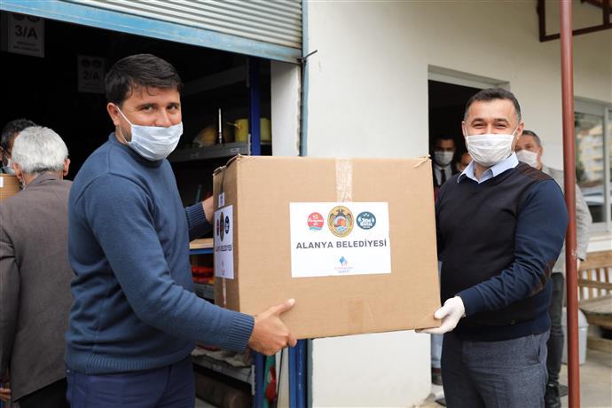 В Аланье появились контейнеры для масок